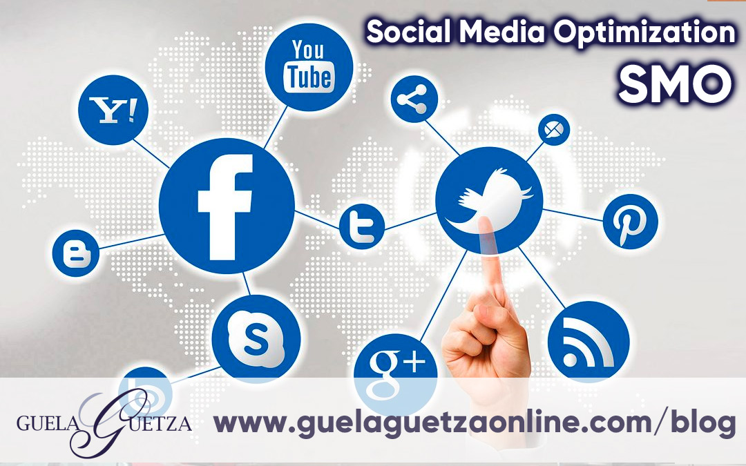 SMO Social Media Optimization.