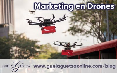 ¡Innovador! Marketing en Drones.