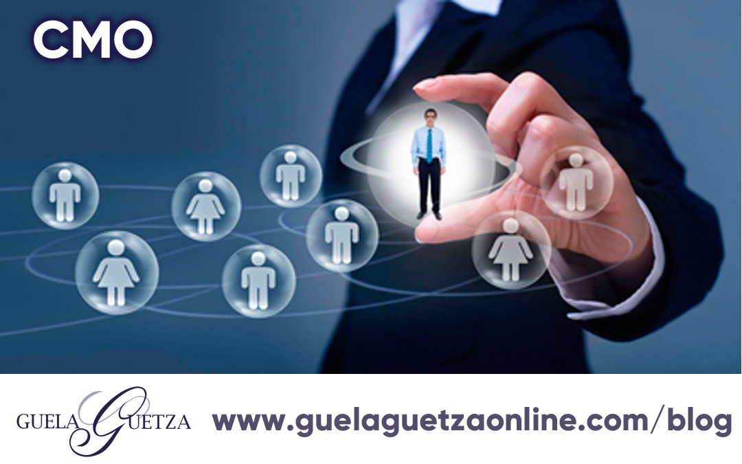 Chief Marketing Officer -CMO- la figura importante del Marketing.