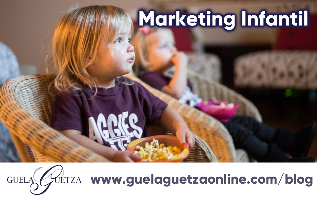 Marketing Infantil, un desafío para captar potenciales clientes.