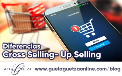 Diferencias entre Cross Selling y Up Selling.