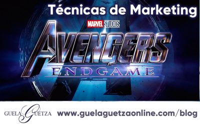 Técnicas de Marketing en Avengers Endgame
