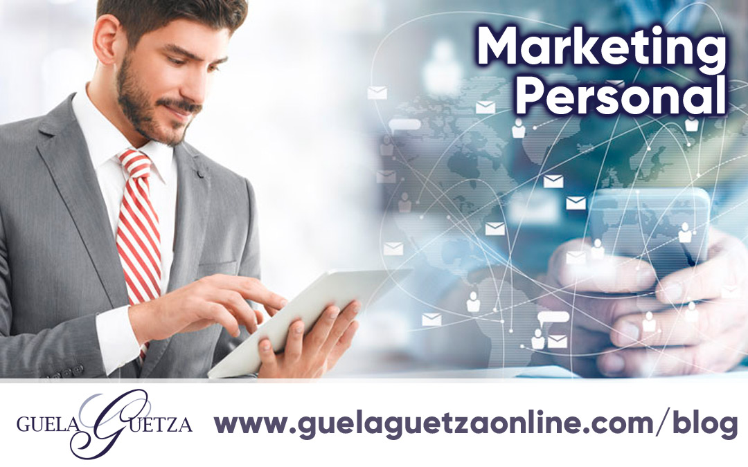 Crear una marca en torno a ti mismo con el Marketing Personal.