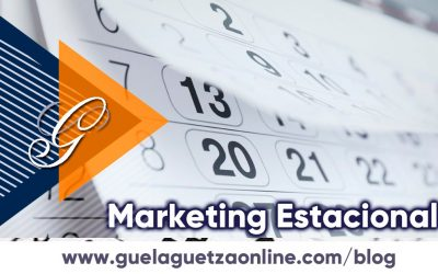 Marketing Estacional, promocionar en fechas especiales.