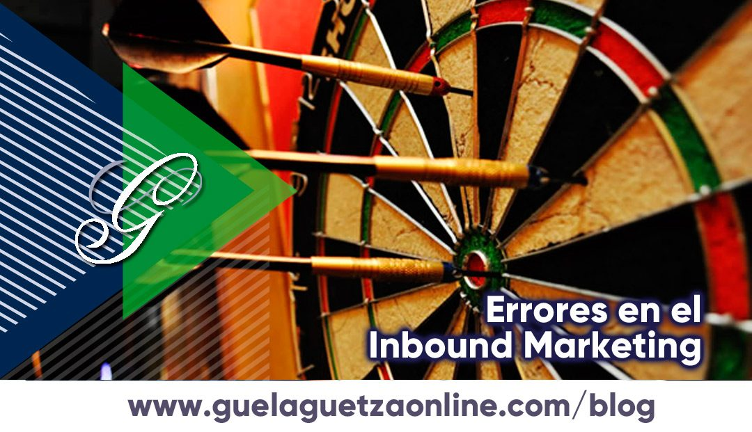 5 Errores Comunes en el Inbound Marketing