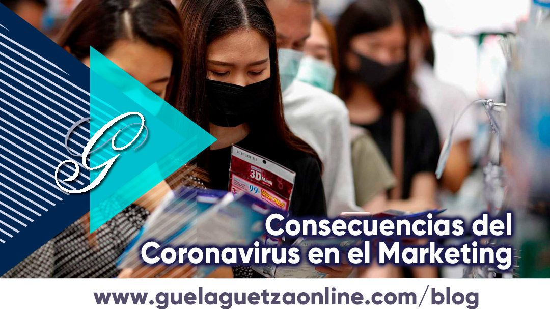 Consecuencias del Coronavirus en el Marketing.
