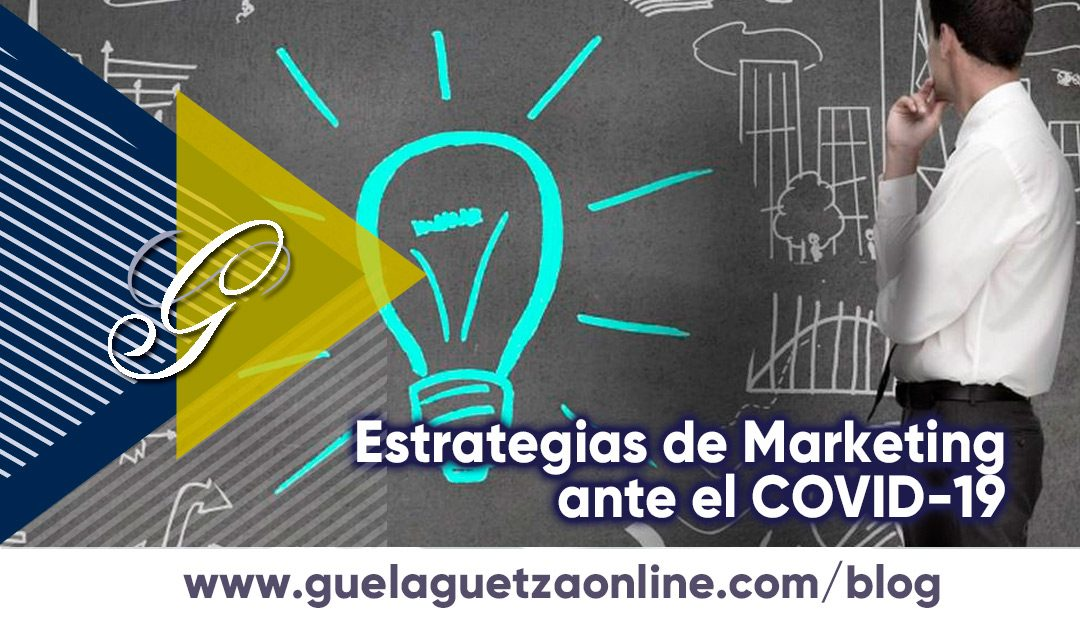 Estrategias de Marketing, ante el Coronavirus.
